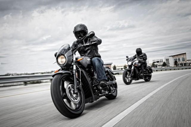 Caractérisée depuis le départ par de grosses motos... (photo fournie par polaris)