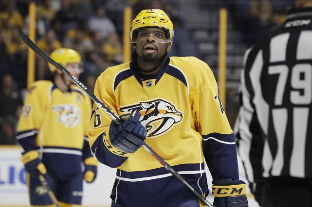 P.K. Subban a raté 16 matchs en raison d'une... (Photo Mark Humphrey, archives AP)