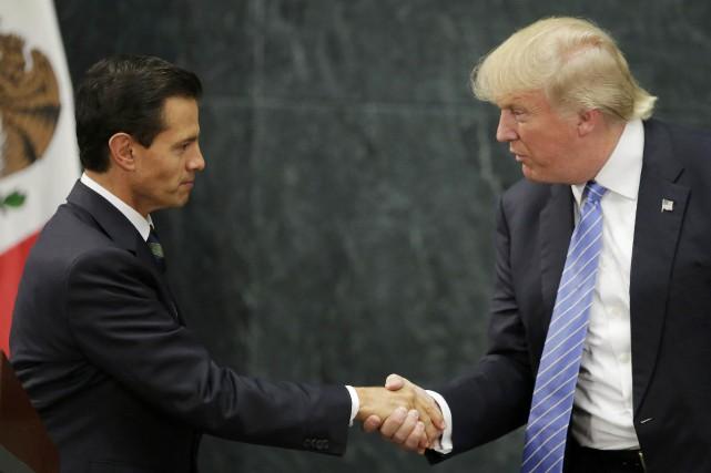 Le nouveau président américain s'est engagé à construire... (Photo archives Reuters)