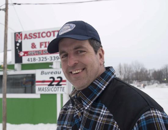 Steve Massicotte, président de l'Association des pourvoyeurs de... (Sylvain Mayer)