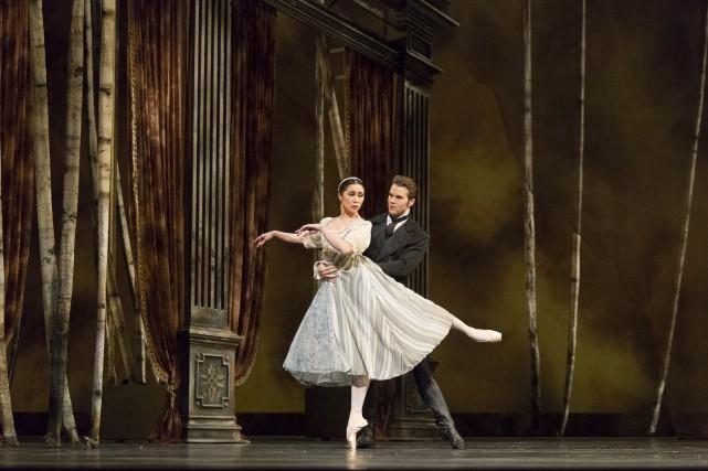 Le ballet Onégin présenté au Centre national des... (Courtoisie)