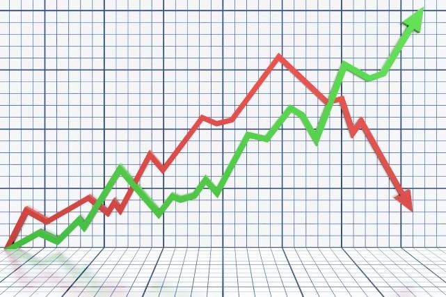 À l'image du marché boursier canadien, les entreprises publiques des régions de... (123RF/ Maxim Basinski)
