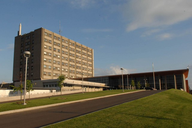 Hôpital du Centre-de-la-Mauricie.... (Sylvan Mayer)