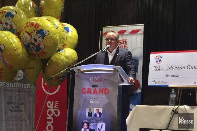 Le président de Slush Puppie Canada, Jean-Rock Beaudoin,... (Courtoisie)