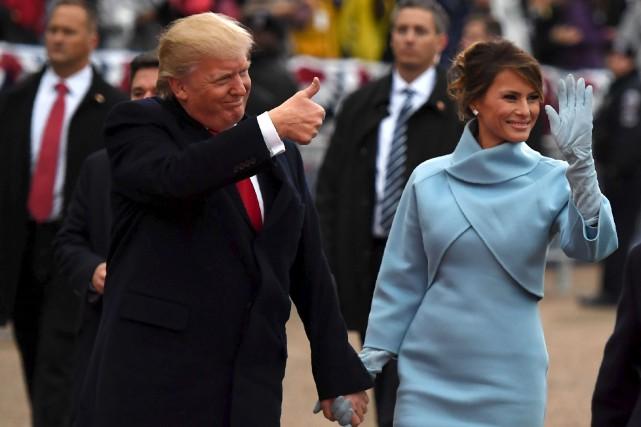 Le président des États-Unis, Donald Trump, et la... (Agence France-Presse)