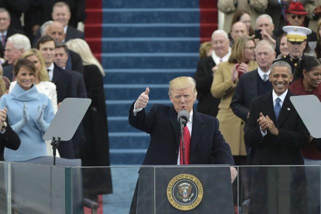 Donald Trump a promis de donner naissance à... (Mandel Ngan, AFP)
