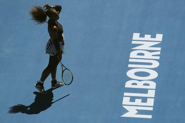 La 17e participation de Serena Williams aux Internationaux d'Australie se... (Photo Reuters)