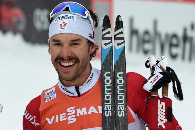 Alex Harvey a terminé 19edu 15 km style... (Archives AFP)