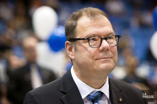 Le président du Bloc québécois, Mario Beaulieu... (Archives La Presse, Robert Skinner)