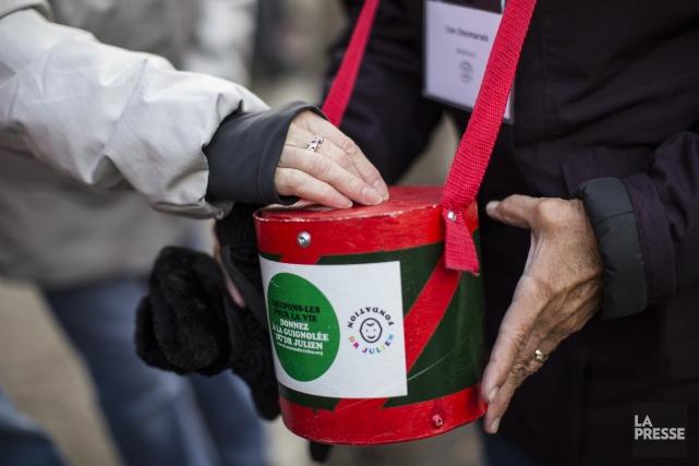 Ces dons proviennent à 80 % des citoyens... (PHOTO EDOUARD PLANTE-FRÉCHETTE, ARCHIVES LA PRESSE)