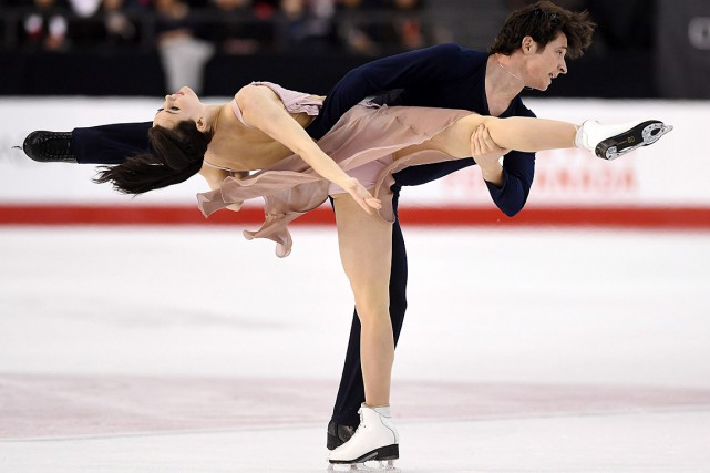 Tessa Virtue et Scott Moir... (PHOTO SEAN KILPATRICK, PC)