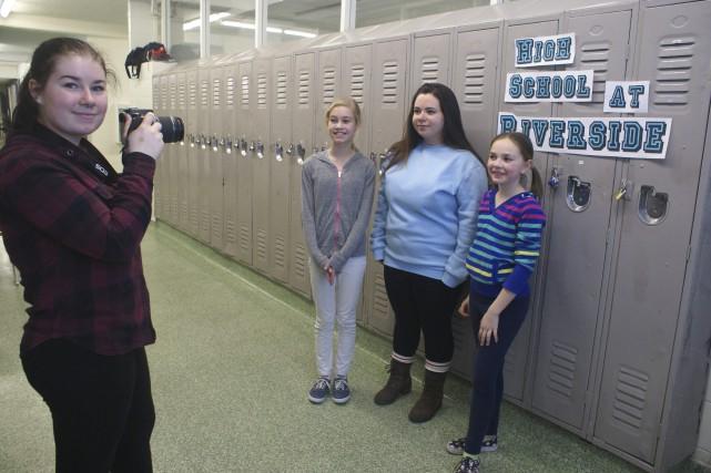Vanessa Gagnon a pris en photo chaque journaliste... (Le Progrès-Dimanche, Mélissa Viau)