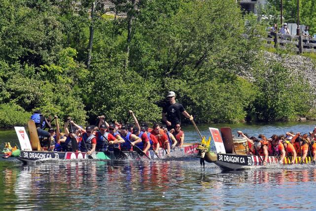Le Festival de bateaux-dragons sera de retour pour... (Archives Le Progrès-Dimanche, Rocket Lavoie)