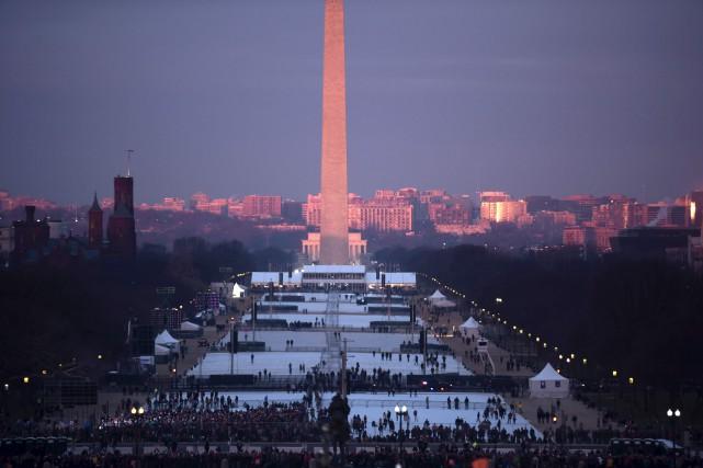 Les images aériennes diffusées vendredi par les télévisions... (AFP)