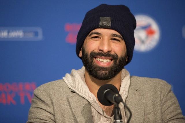 Bautista a accepté mardi dernier un contrat d'une... (La Presse canadienne)