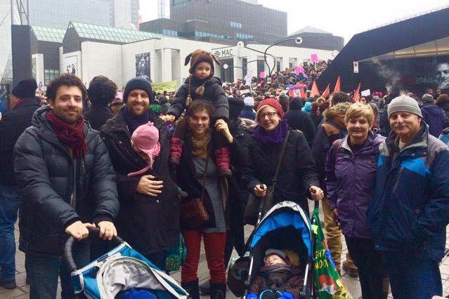 Sasha Dyck (deuxième à partir de la gauche)... (Photo fournie parSasha Dyck)