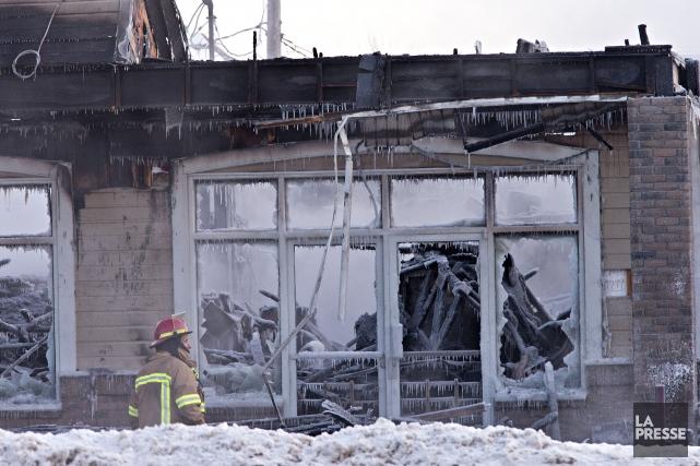 Ces incendies criminels, comme celui ayant détruit un... (Archives La Presse)