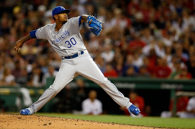 Yordano Ventura était âgé de 25 ans.... (Photo Greg M. Cooper, archives USA Today Sports)
