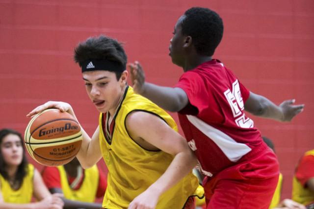 Plus vieux tournoi de basketball scolaire au Canada,... (Olivier Croteau)