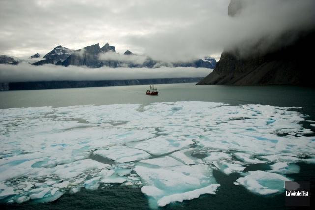 Depuis le début des relevés de température en 1880, la Terre a enregistré en... (Archives La Voix de l'Est)