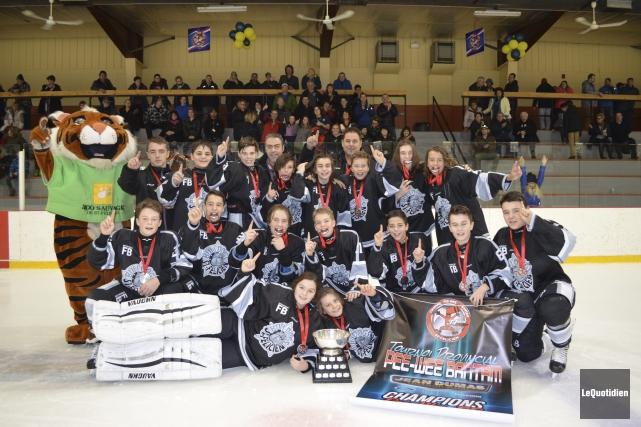 Bulldogs de St-Flicien Peewee CC Sag-Lac St-Jean