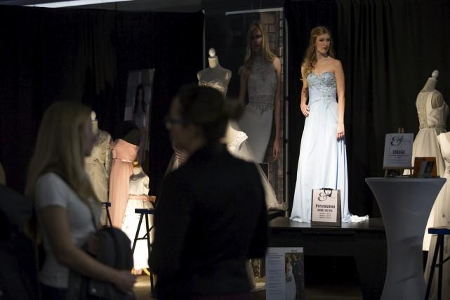 L'occasion était belle de découvrir les nouvelles robes... (Olivier Croteau)
