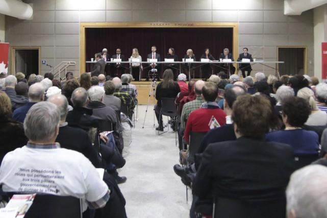 Les candidats à l'investiture libérale dans Ottawa-Vanier, lors... (Etienne Ranger, archivesLe Droit)