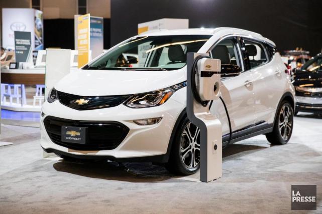 Parmi les voitures électriques pouvant être essayées par... (PHOTO MARCO CAMPANOZZI, LA PRESSE)