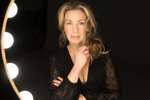 Dans L'heure bleue, l'actrice Céline Bonnier, qui compte... (PHOTO IVANOH DEMERS, LA PRESSE)