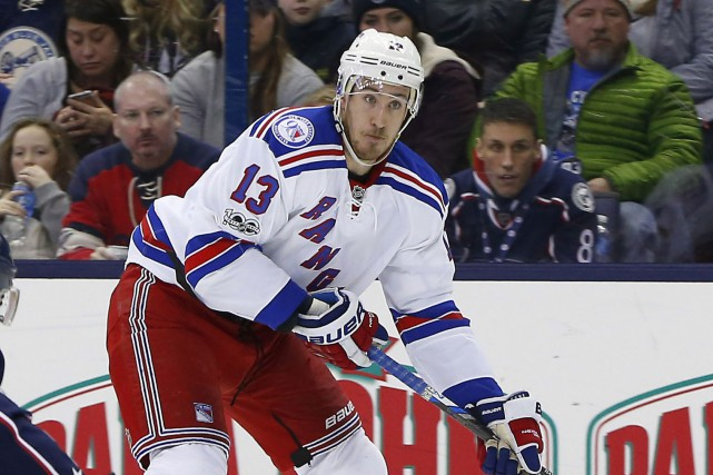 Kevin Hayes... (Photo Russell LaBounty, USA Today Sports)