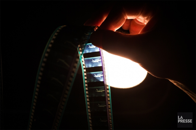 Au temps du numérique, des réalisateurs continuent de... (PHOTO OLIVIER PONTBRIAND, LA PRESSE)