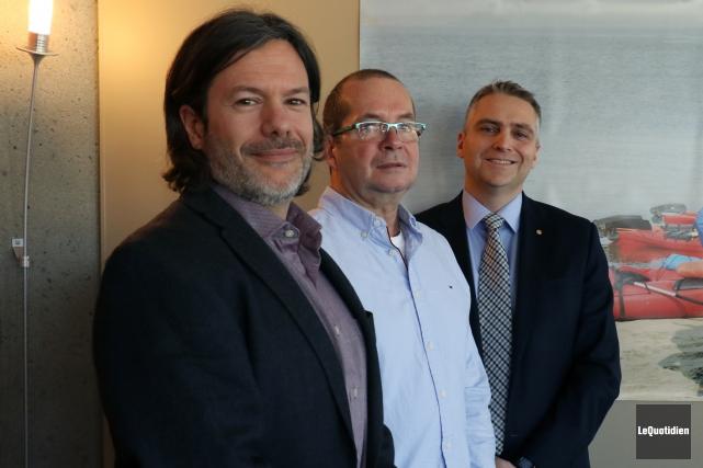 Jean-Charles Fortin, directeur général de la Fondation sur... (Photo Le Quotidien, Yohann Gasse)