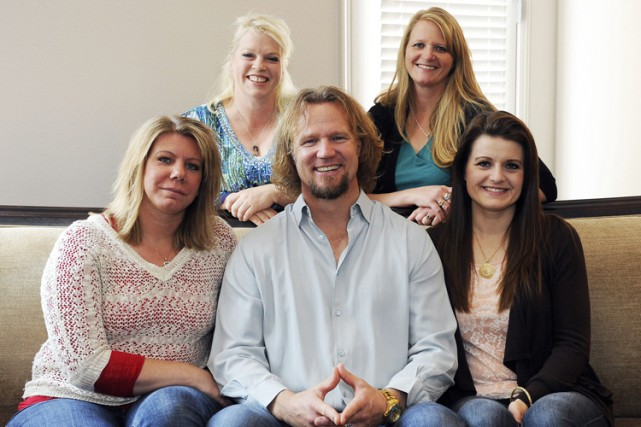 Kody Brown vit avec Meri, Janelle, Christine et... (PHOTO AP)