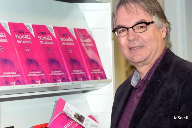 Le pdg et éditeur de Septembre éditeur, Martin... (Le Soleil, Jean-Marie Villeneuve)