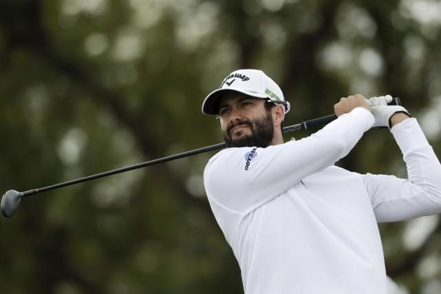 Adam Hadwinest devenu le huitième golfeur, et le... (Associated Press)