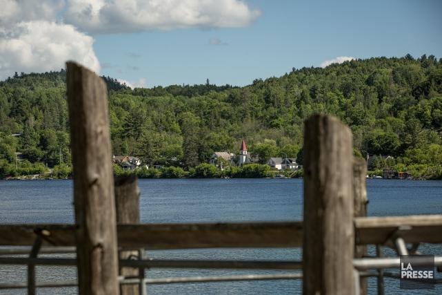 Une portion de ll rivière Gatineau.... (Archives, La Presse)