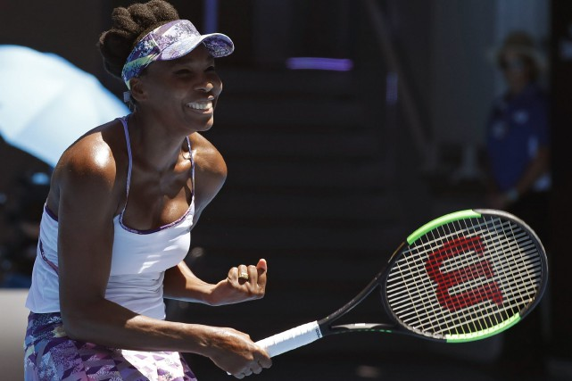 Âgée de 36 ans, Venus Williams (photo) est... (Photo Kin Cheung, Associated Press)