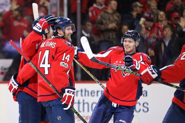 Les Capitals ont écrasé les Hurricanes de la... (Photo Geoff Burke, USA Today Sports)