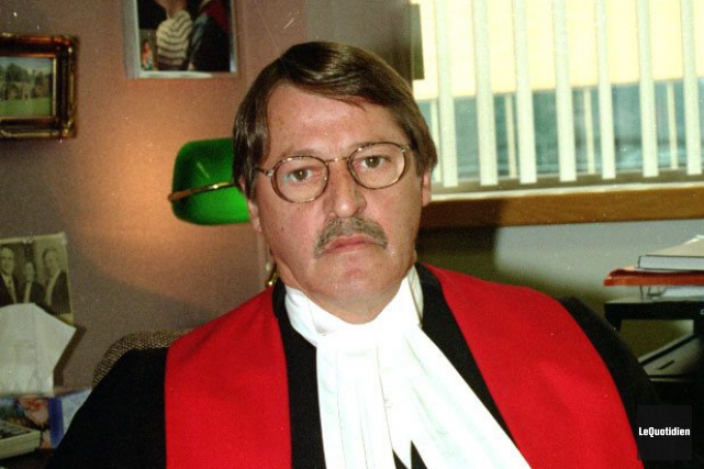 L'ancien juge à la retraite avait fêté son... (Archives Le Quotidien)