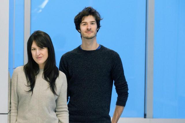 Anne-Élisabeth Bossé et SimonBeaulé-Bulman font partie des têtes... (Photo Robert Skinner, La Presse)