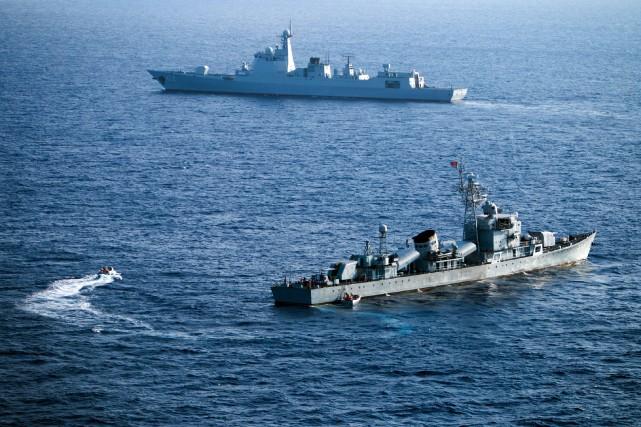 Pékin revendique la majeure partie de la mer... (AFP)
