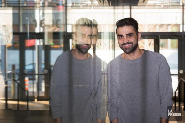 L'artiste montréalais Amir Baradaran a obtenu une bourse... (PHOTO OLIVIER PONTBRIAND, LA PRESSE)