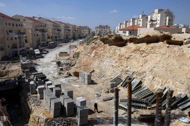Israël a approuvé la construction de2500 nouvelles unités... (Photo Oded Balilty, archives Associated Press)