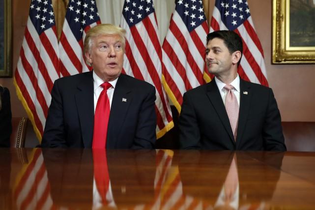 Le président de la Chambre des représentants américaine,... (Photo Alex Brandon, archives Associated Press)