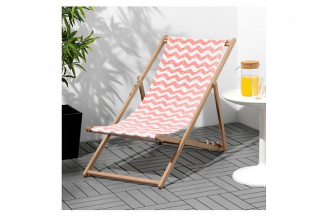Même si l'été peut paraître bien loin, Ikea procède au rappel de la chaise de... (Photo tirée du site web d'Ikea)