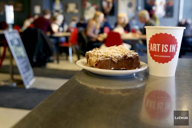 En moins d'une décennie, la boulangerie ottavienne Art IsIn a crée une petite... (Patrick Woodbury, Le Droit)