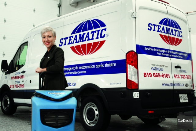 La présidente de Steamatic Canada, Nancy Raymond... (Patrick Woodbury, Le Droit)