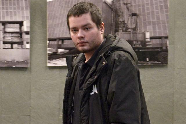 Jonathan Falardeau-Laroche, 22 ans,a formellement été accusé de... (Le Soleil, Yan Doublet)