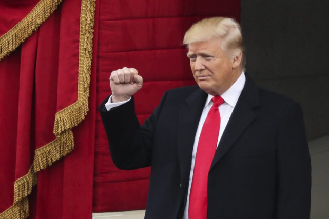 Donald Trump... (PHOTO AP)