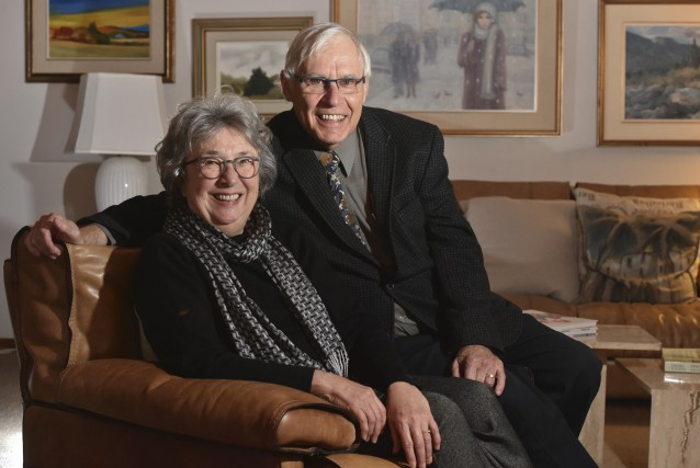Jean et Nicole Villeneuve, les parent de Denis,... (François Gervais)